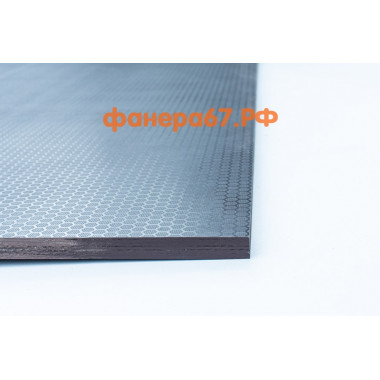 Фанера 6 мм ламинированная, сорт 1/1, 1220х2440 мм, F/W (гладкая / сетка)